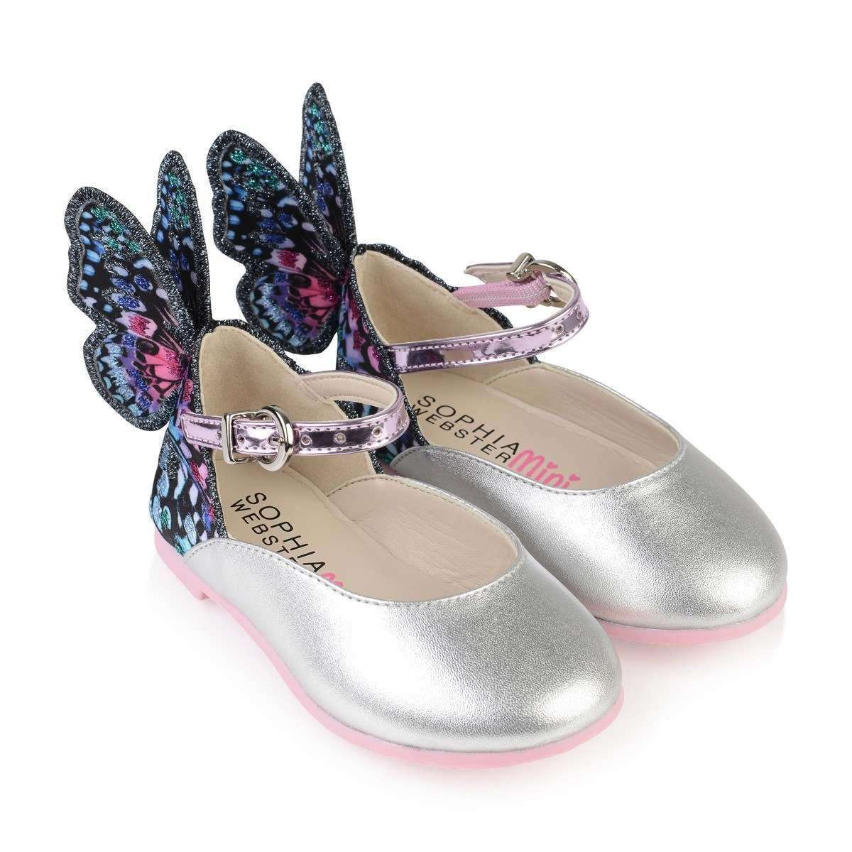 SOPHIA WEBSTER KIDS GIRLS CHIARA EMBROIDERY SHOES EU 28 UK 10