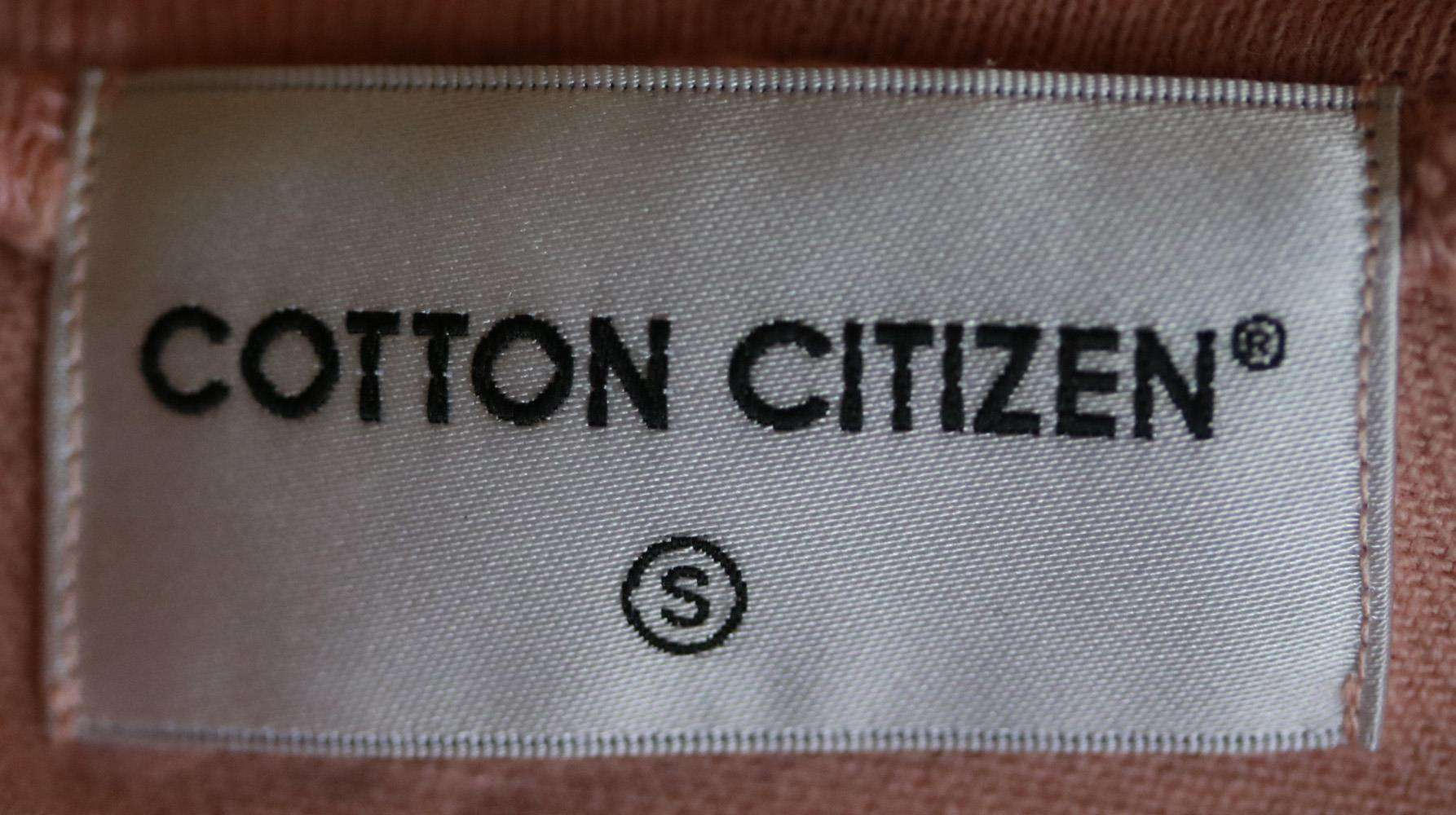COTTON CITIZEN HOODED DENIM JACKET SMALL