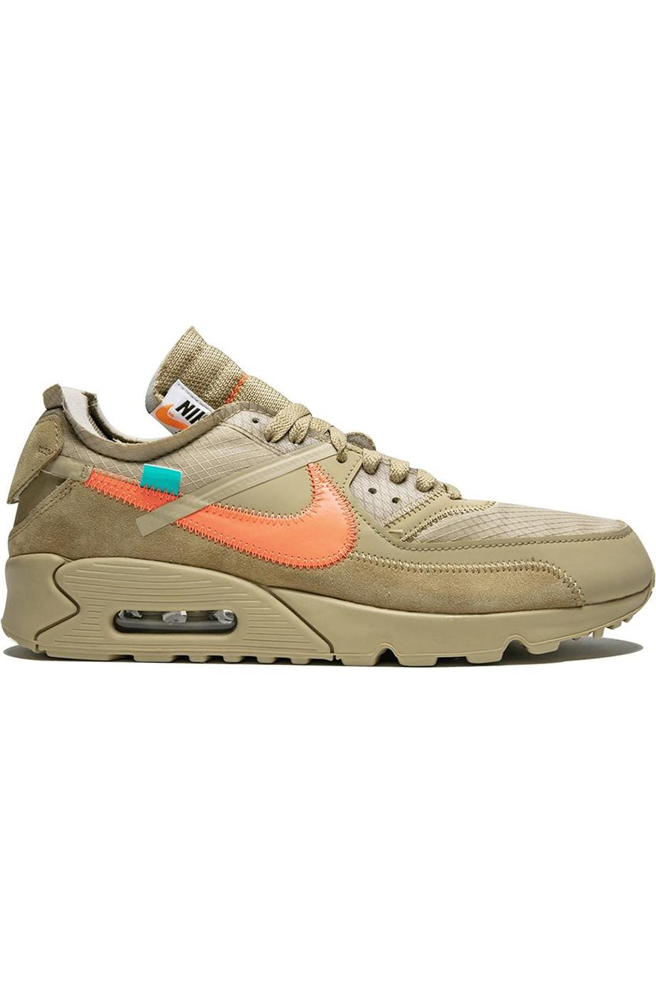 NIKE OFF-WHITE C/O ABLOH THE 1OTH AIR MAX 90 SNEAKERS EU 47.5 UK 12 US 13