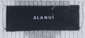 ALANUI BELTED FRINGED CASHMERE JACQUARD CARDIGAN MEDIUM