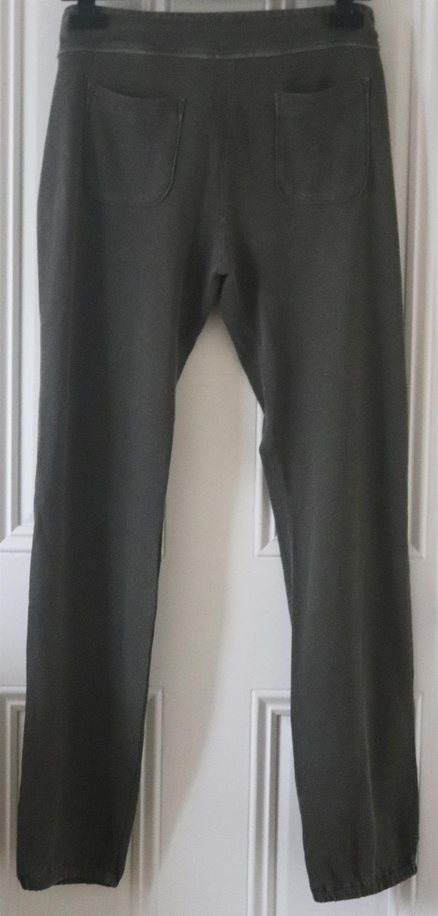 JAMES PERSE GENIE SUPIMA COTTON TERRY TRACK PANTS UK 10