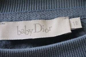 BABY DIOR BLUE CONSTELLATION SWEATER 18 MONTHS