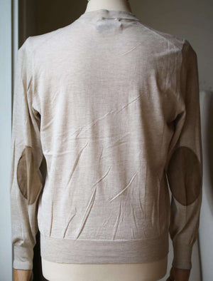 BRUNELLO CUCINELLI LONG SLEEVE KNIT SWEATER IT 48 UK 38