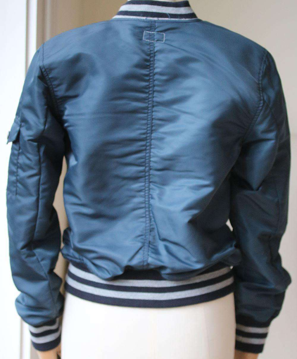 MOTHER THE AVIATOR SHELL BOMBER JACKET SMALL