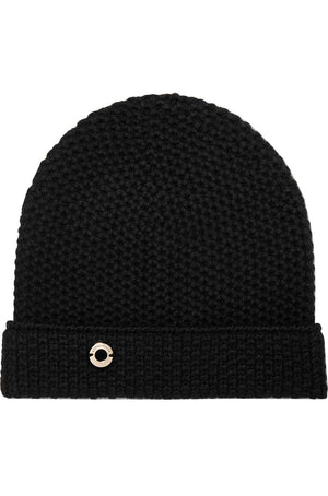 LORO PIANA ROUGEMONT CROCHETED CASHMERE BEANIE ONE SIZE