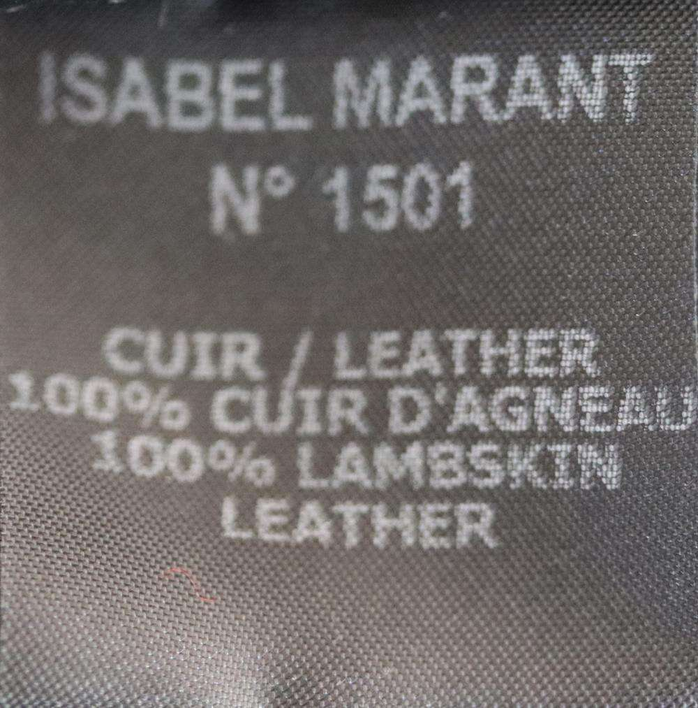 ISABEL MARANT CLAYNE SHEARLING JACKET FR 38 UK 10