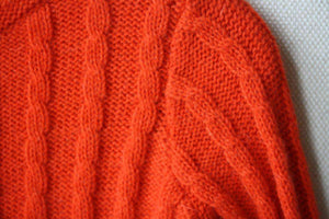 BONPOINT BABY ORANGE CARDIGAN 2 YEARS