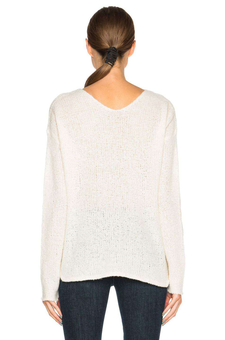 ATM ANTHONY THOMAS MELILLO DROPPED SHOULDER SWEATER SMALL