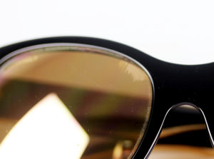 CHANEL D FRAME METAL AND ACETATE SUNGLASSES