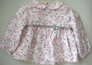 TARTINE ET CHOCOLAT BABY FLORAL BLOUSE 12 MONTHS