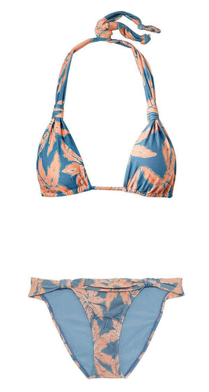 VIX BIA AND MARGARITA FLORAL PRINT TRIANGLE BIKINI LARGE