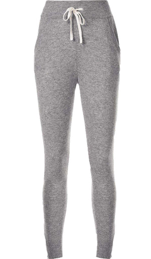 JAMES PERSE CASHMERE KNIT TRACK PANTS UK 10
