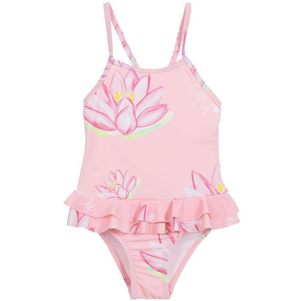 A DEE KIDS GIRLS WATER LILY SWIMSUIT 6 YEARS