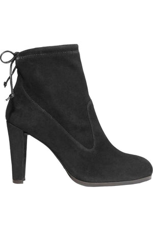 STUART WEITZMAN GLOVE STRETCH SUEDE ANKLE BOOTS EU 40 UK 7 US 9.5