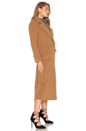 MASON BY MICHELLE MASON MILITARY COAT US 2 UK 8