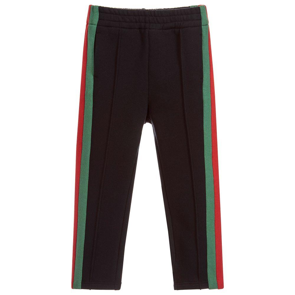 GUCCI KIDS BOYS COTTON TRACK PANTS 4 YEARS