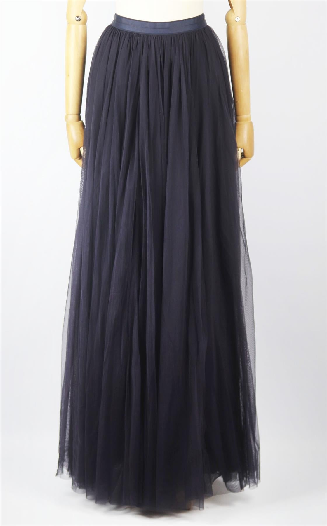 NEEDLE AND THREAD TULLE MAXI SKIRT UK 6