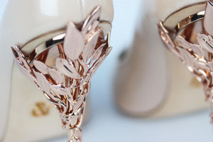 RALPH AND RUSSO PATENT LEATHER PUMPS EU EU 38.5 UK 5.5 US 8.5