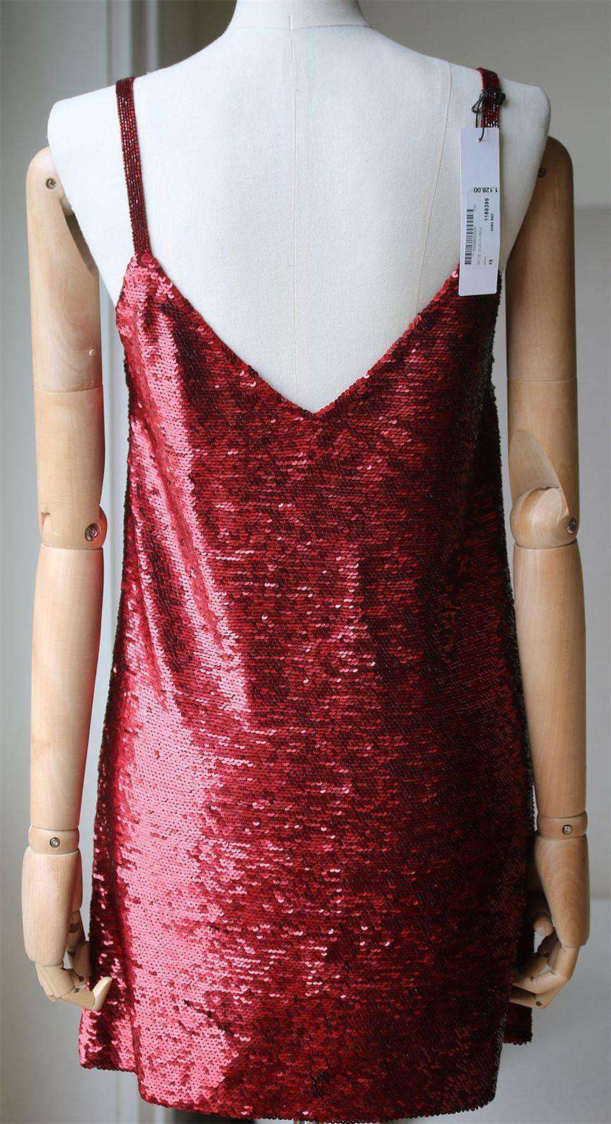ASHISH SEQUIN EMBELLISHED MINI DRESS XSMALL