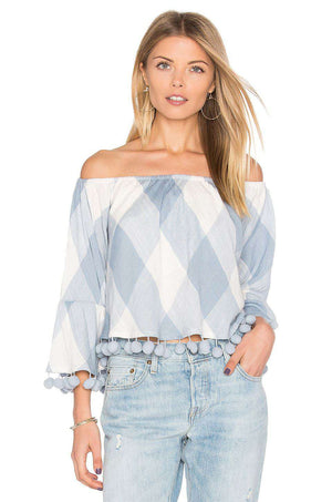 TULAROSA ALEXA OFF THE SHOULDER TOP MEDIUM