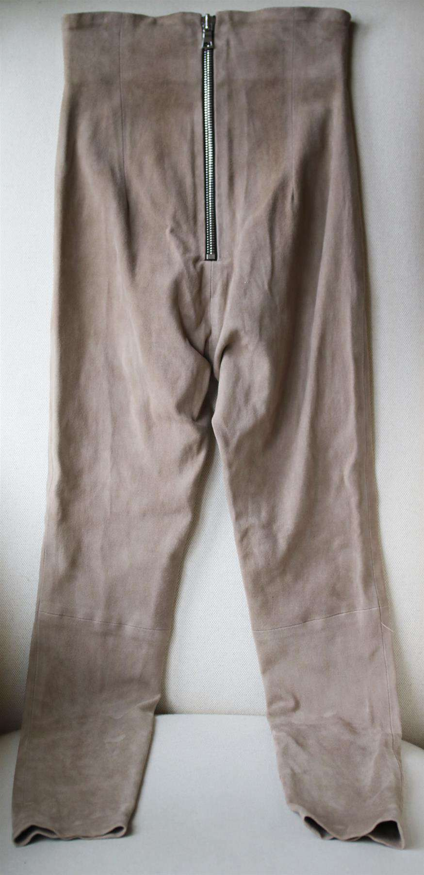 SABLYN JESSICA HIGH WAISTED SUEDE LEGGINGS XSMALL