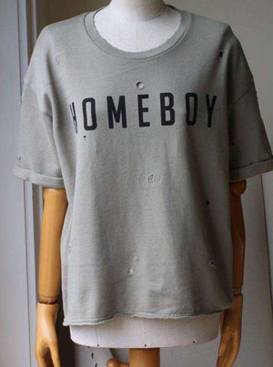 ZOE KARSSEN HOMEBOY SWEATSHIRT SMALL