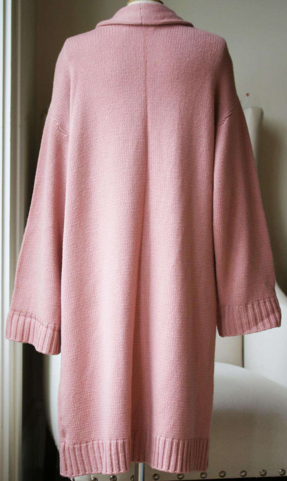 SABLYN KARI LONG CASHMERE CARDIGAN MEDIUM