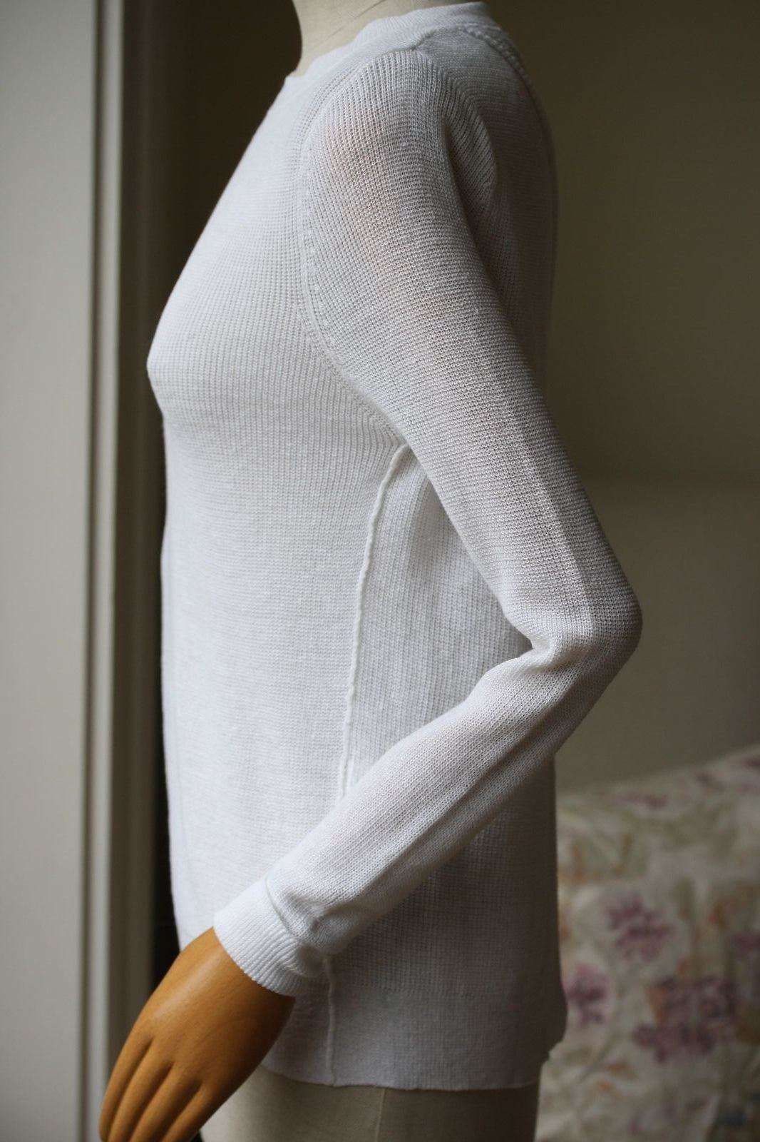 A.L.C. CROSS OVER BACK SWEATER XSMALL