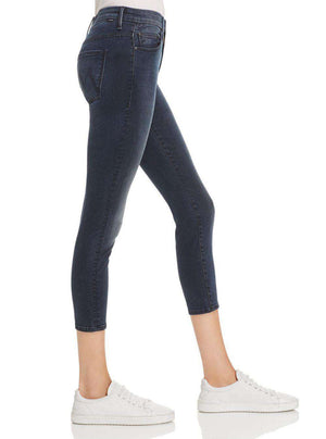 MOTHER THE LOOKER HIGH WAISTED CROPPED JEANS W28 UK 10