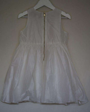 TARTINE ET CHOCOLAT GIRLS IVORY CEREMONY DRESS 4 YEARS
