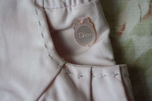 BABY DIOR PINK COTTON PULL ON TROUSERS 6 MONTHS