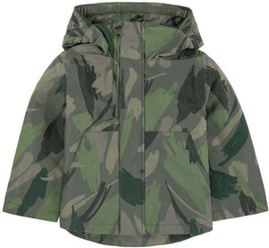 STELLA MCCARTNEY KIDS BOYS CAMOUFLAGE FLEECE LINED COAT 2 YEARS