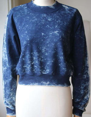 COTTON CITIZEN MILAN CROPPED CREW NECK SWEATER XSMALL
