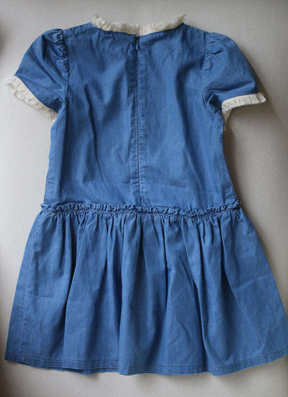 WILD AND GORGEOUS KIDS GIRLS JANE DENIM DRESS 4-5 YEARS