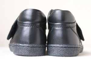 DOLCE AND GABBANA BABY BLACK LEATHER SHOES EU 21 UK 4.5