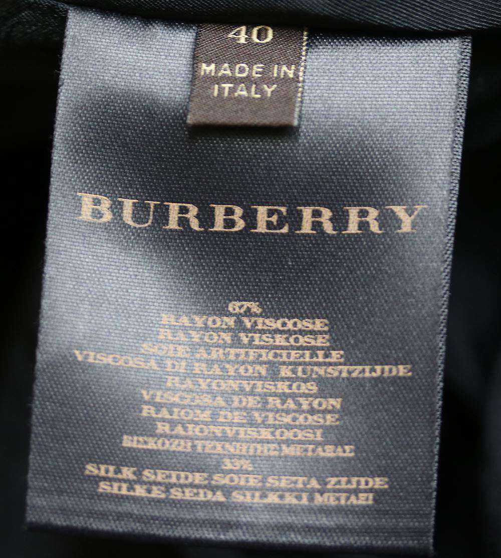 BURBERRY REGIMENTAL TRENCH COAT IT 40 UK 8