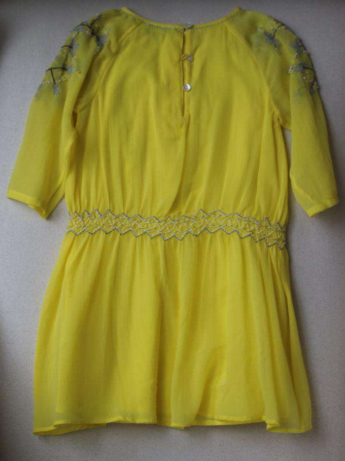 WILD & GORGEOUS GIRLS YELLOW ARIELLE DRESS 4-5 YEARS