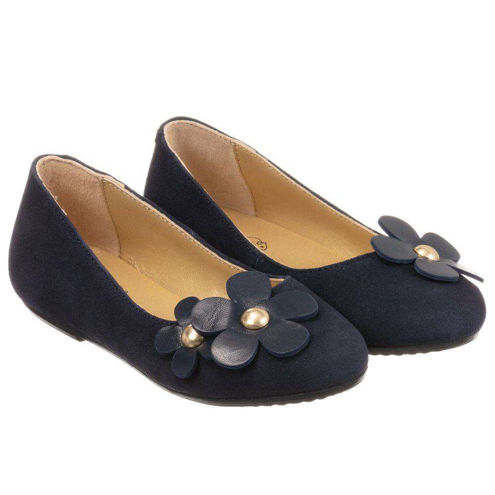 LITTLE MARC JACOBS KIDS GIRLS DAISY LEATHER SHOES EU 28 UK 10