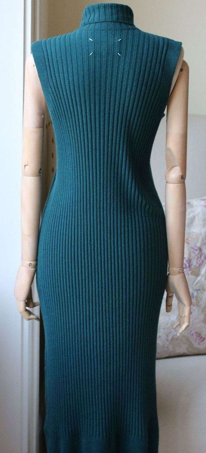MAISON MARGIELA RIBBED TURTLENECK DRESS MEDIUM