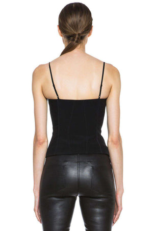 ALEXANDER WANG CORSET CAMI TOP US 0 UK 4