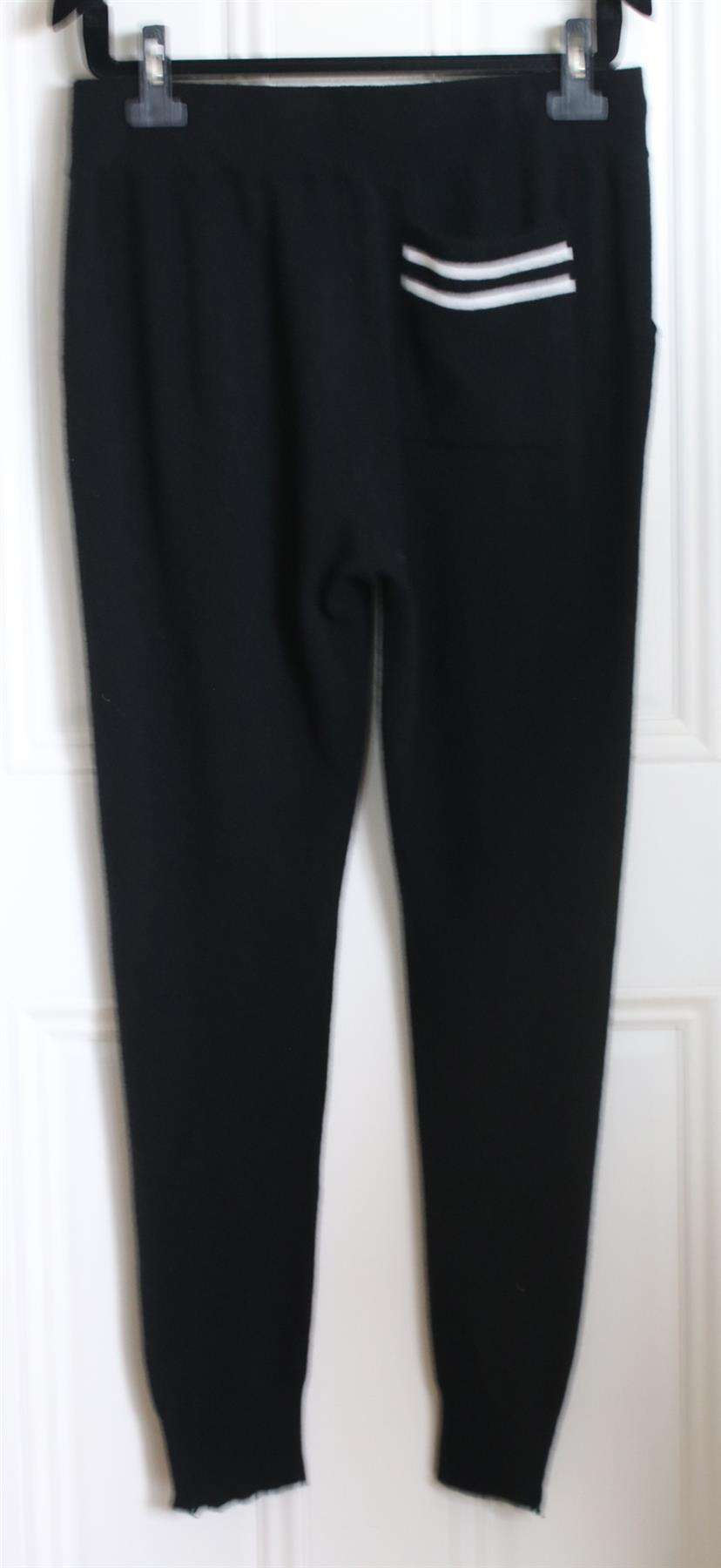 JAMES PERSE CASHMERE KNIT TRACK PANTS UK 12