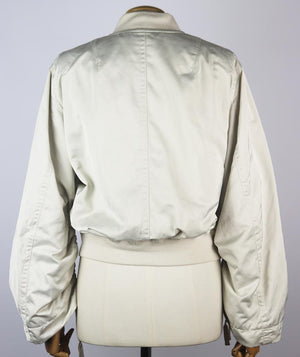 VINCE RUCHED SHELL BOMBER JACKET SMALL