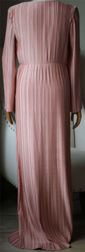 THE JETSET DIARIES PRIMAVERA PLEATED MAXI DRESS MEDIUM