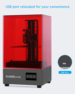 ELEGOO Saturn MSLA 4K Monochrome LCD 3D Printer
