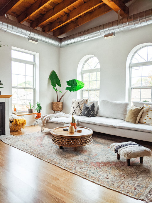 Roots: Inside this boho-chic light filled loft built in 1900