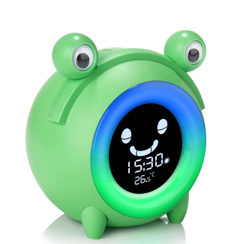Kids Alarm Clock & Night Light Popo Buddy - Lumimoon