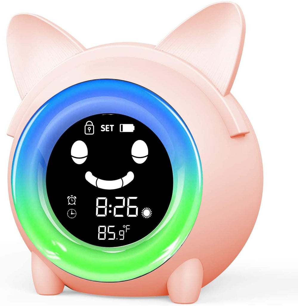 Kids Alarm Clock & Night Light Hilo Buddy - Lumimoon