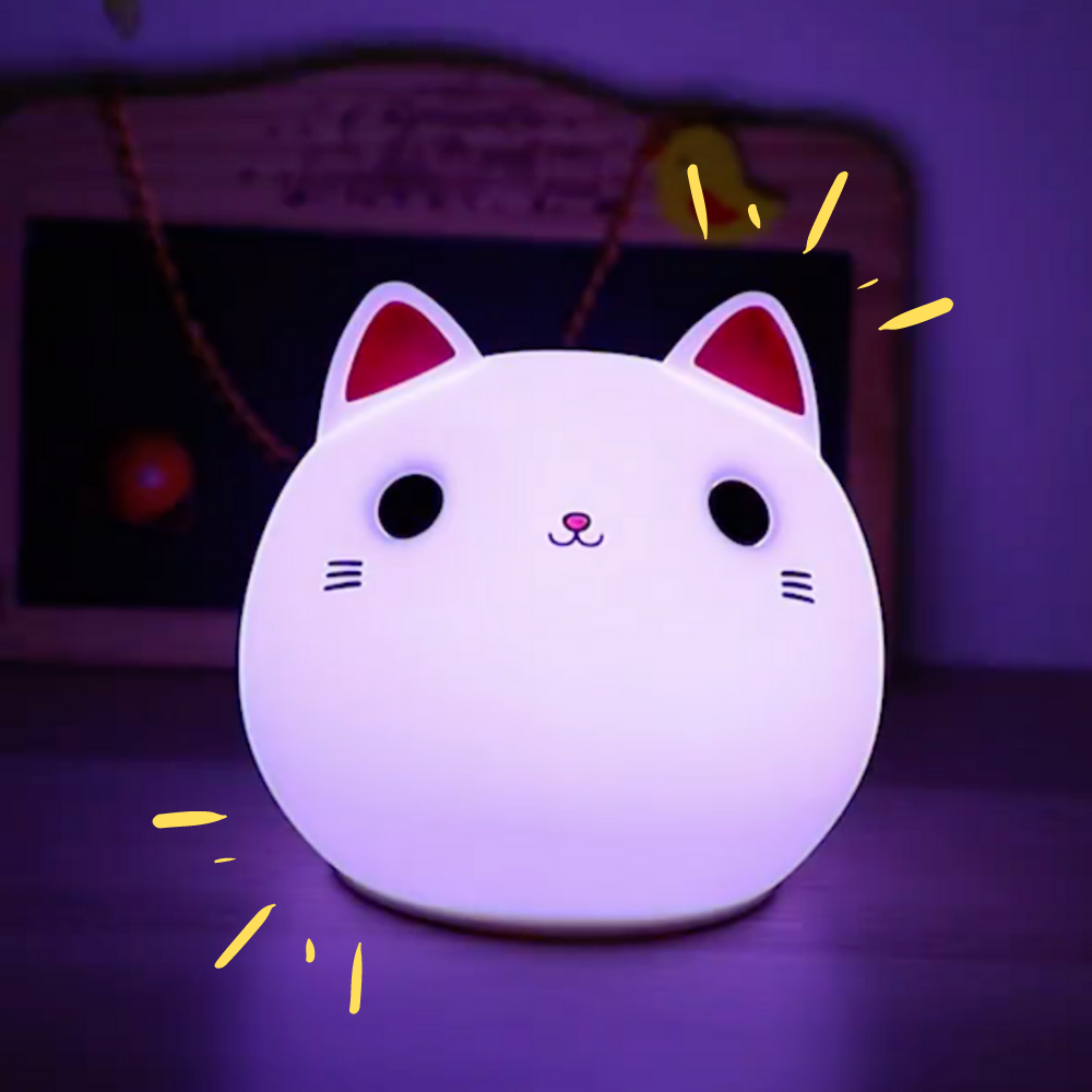 Kitten Night Light - Lumimoon