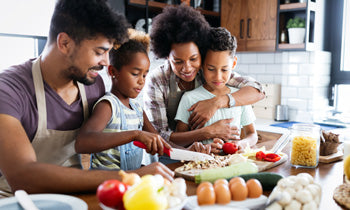 How to Spend More Time with Your Family in the Kitchen