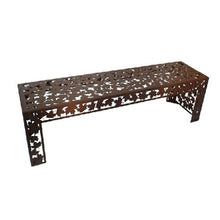 Load image into Gallery viewer, Metal Garden Bench Seats and Stools 150cm/40cm Long x 45cm High
